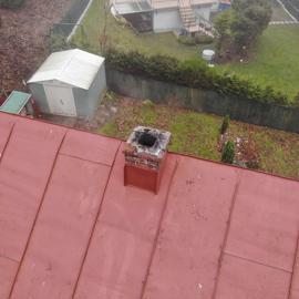 Inšpekcia komína s dronom