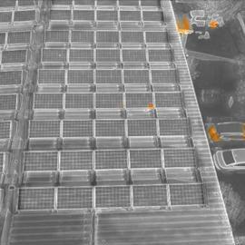 Msx snímok solárnych panelov