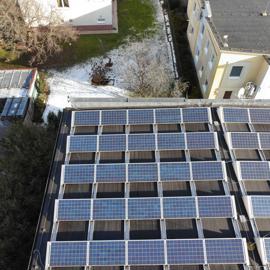 Kontrola solárnych panelov